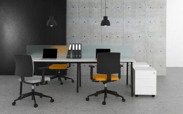 cadeira giratoria escritorio comfort costa baixa