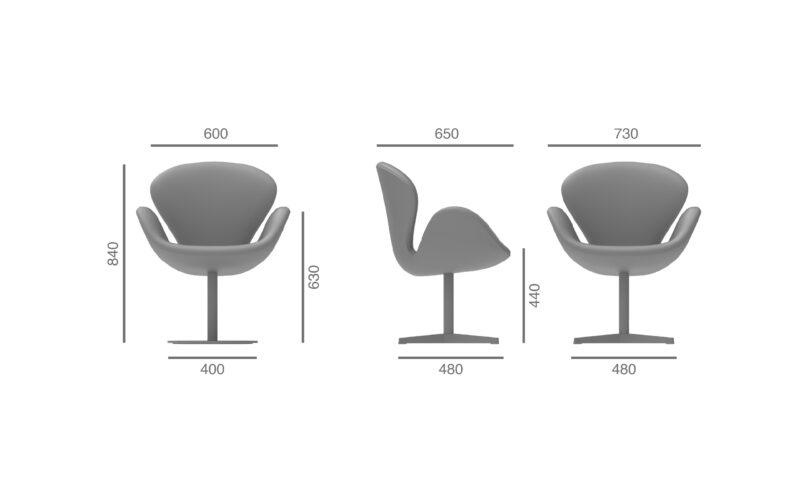 emoji poltrona Julcar armchair